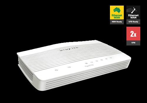UFB Router/Firewall, QoS, VPN, 4x GigE LAN, 1x GigE WAN