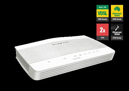 VDSL / UFB Router, Firewall, QoS, PPTP and IPSec VPN