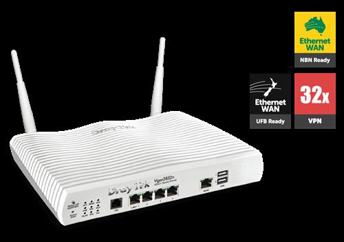 Vigor2832n ADSL/UFB WiFi Router, Firewall