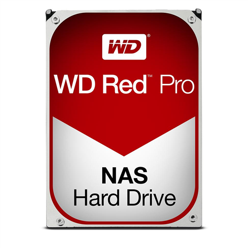 8TB Red Pro 7200RPM 128MB SATA 6 Gb/s for Professional NAS Application