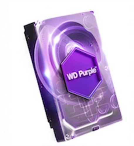 3TB Purple SATA 6GB/S Hard Disk for Video Surveillance Applications