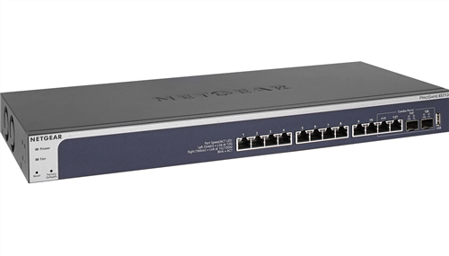 12-port 10GigE Smart Managed Pro Switch, with 2 x SFP+