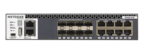 M4300-8X8F 16-Port Fully Managed Stackable Layer 3 Switch (16 x 10G ports: 8 x 10GBASE-T & 8 x SFP+)