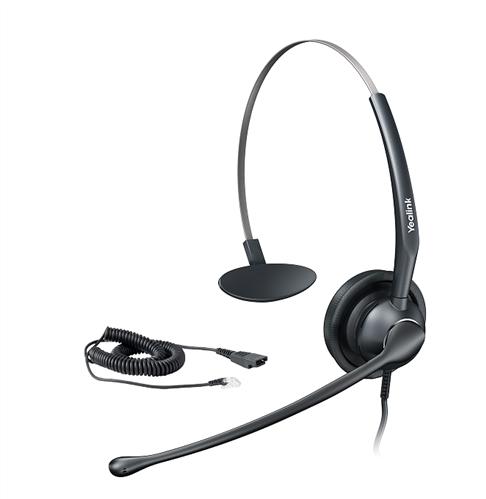 Headset for Yealink IP Phones, wideband audio