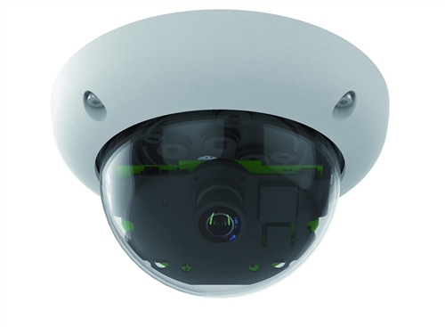Indoor/Outdoor 6 Megapixel Dome IP Camera Body (add lens), Night