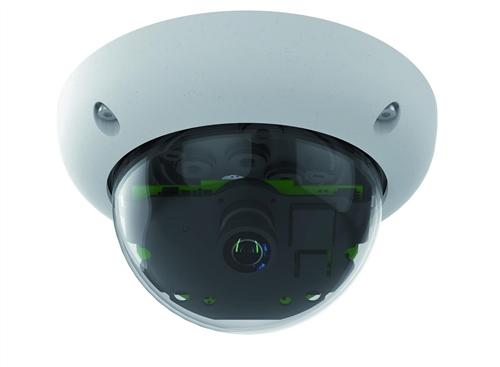 Indoor/Outdoor 6 Megapixel Dome IP Camera Body (add lens)