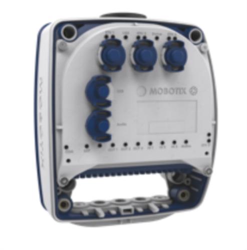 MxSplitProtect IP66 Installation Box, PoE Splitter with Protection