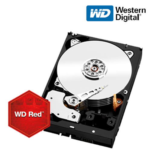 3TB Red SATA 6 Gb/s Hard Disk for NAS Appliances